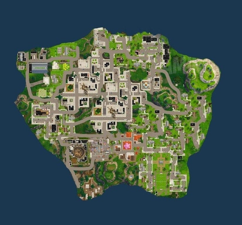 This Fortnite Big City Map Design Makes Us Want It