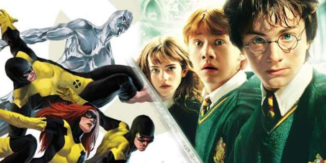 X-Men Harry Potter