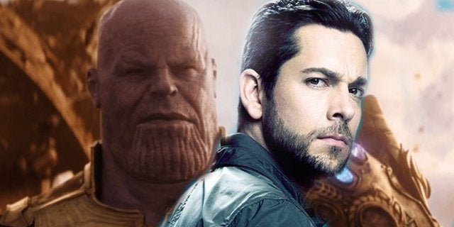 Zachary Levi Thanos