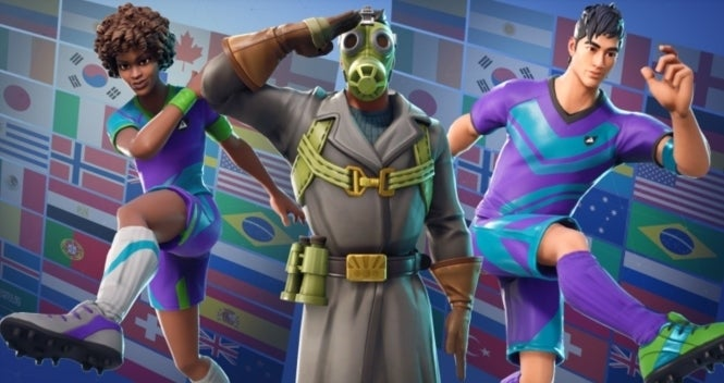 Tons of Fortnite New Cosmetic Items Leaked, Including 8 Customized Soccer Characters (UPDATED)