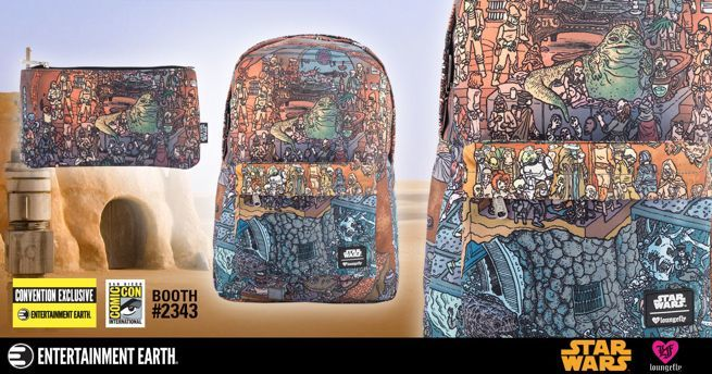 Star Wars Jabba's Palace SDCC Exclusive Backpack Set Pre