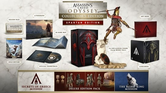 Assassin's Creed Odyssey Releases 5 October, set in Greece
