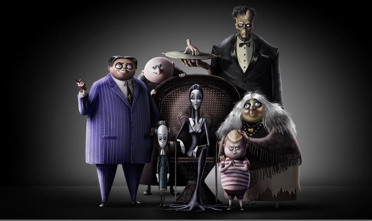 39 the addams family 39 first image released all star voice. Black Bedroom Furniture Sets. Home Design Ideas