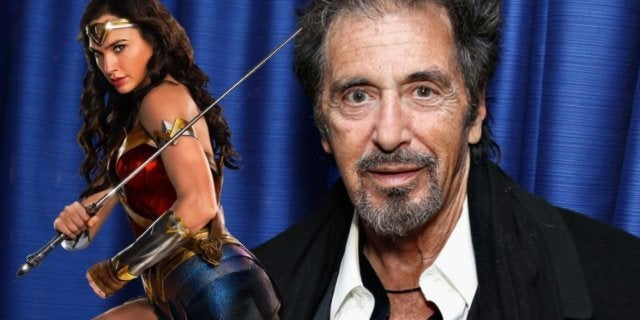 Al Pacino Wonder Woman