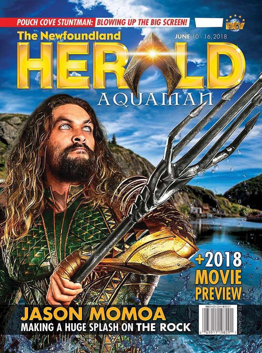 aquaman-jason-momoa-costume-magazine-cover-newfoundland-herald