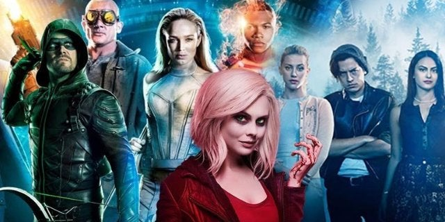 arrow legends izombie riverdale