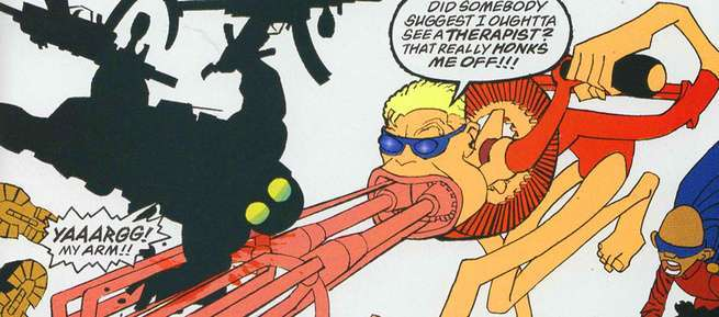 Best Plastic Man Comics - Dark Knight Strikes Again