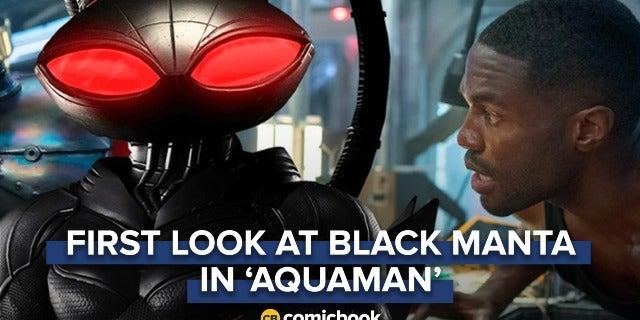 BREAKING: First Look at Black Manta in 'Aquaman