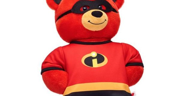 The 'Incredibles 2' Bear Awaits You at Build-A-Bear Workshop
