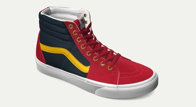 Captain-Marvel-Custom-Vans