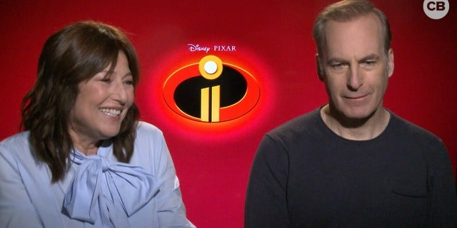 Catherine Keener and Bob Odenkirk Talk the Incredibles 2 screen capture