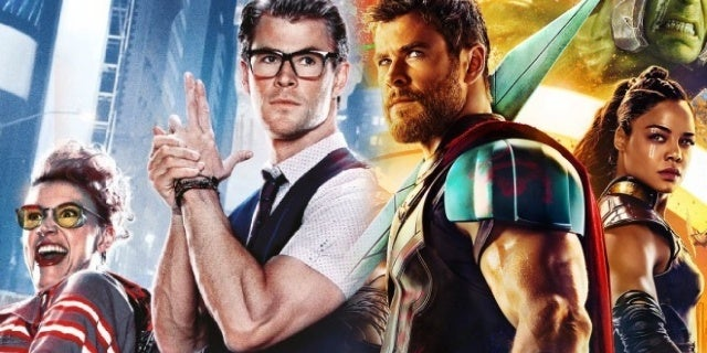 chris hemsworth ghostbusters thor ragnarok