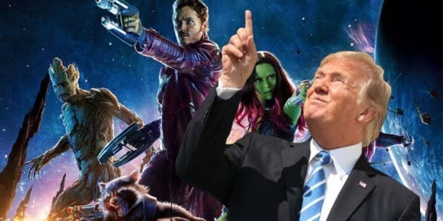 donald trump space force guardians of the galaxy