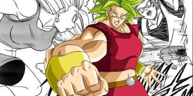 Dragon Ball Super Manga Kale Freeza Fight