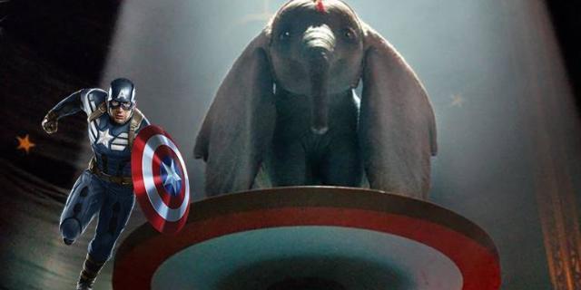 dumbo captain america shield