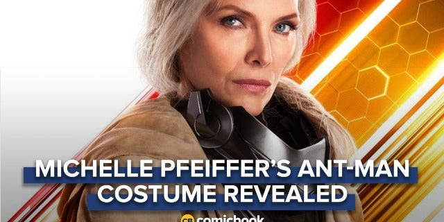 First Look At Michelle Pfeiffer In 'Ant-Man and The Wasp' Costume screen capture