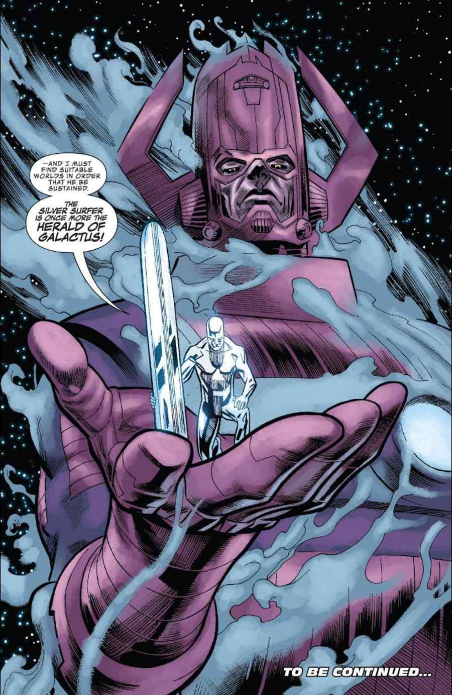 Galactus Silver Surfer