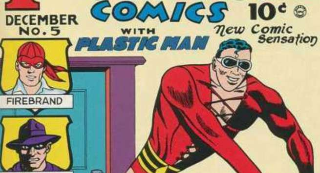 Guide to Plastic Man - Early Appearance