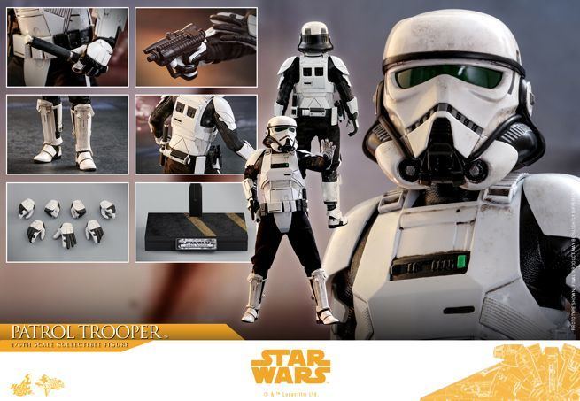 Solo A Star Wars Story Patrol Trooper Figure Unveiled By Hot Toys