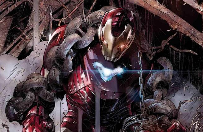 Iron Man Villains Dan Slott - Cover