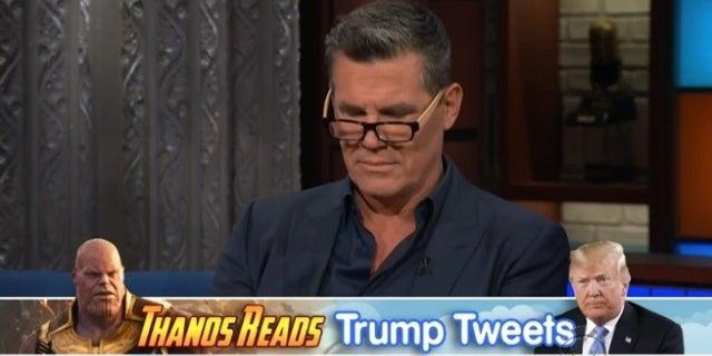 Josh-Brolin-Thanos-Reads-Trump-Tweets