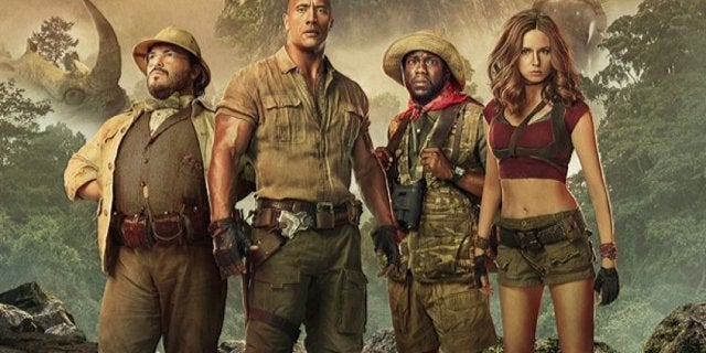 Jumanji Welcome Jungle Sequel Release Date Teaser