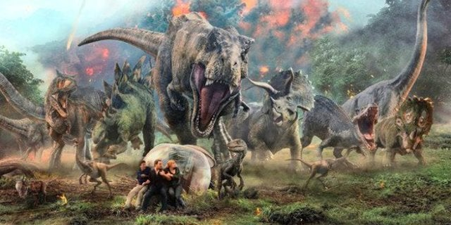 Jurassic World 2 Fallen Kingdom Brachiosaurus Death Scene