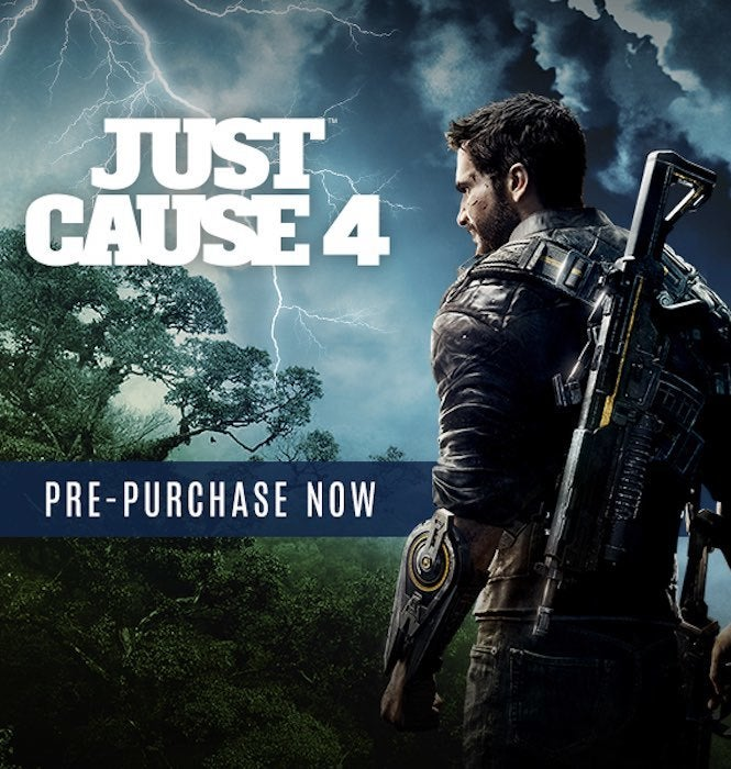 Just Cause 4 Leaked From Steam Pre-Purchase Banner