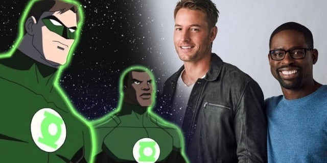 justin hartley sterling k brown green lantern corps