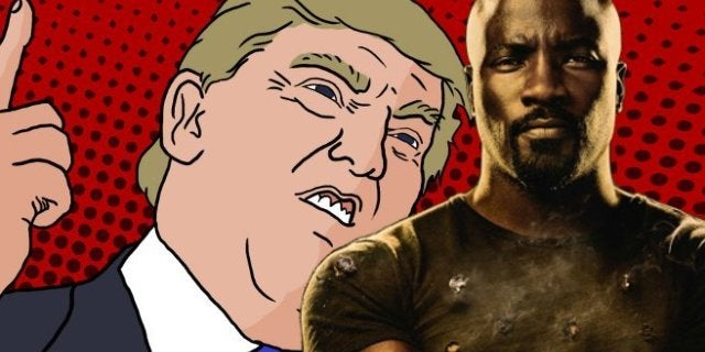 Luke Cage Season 2 Donald Trump References Quotes