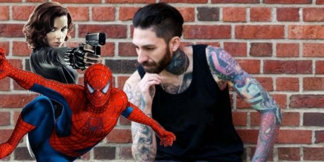 Marvel tattoos Scolamiero comicbookcom