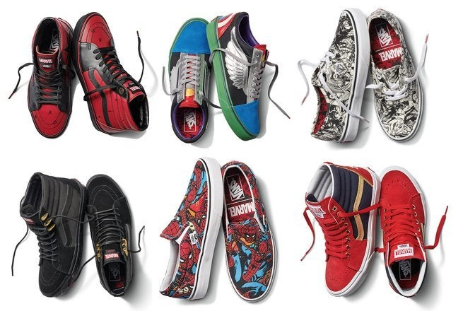 The Marvel x Vans Sneaker Collection is Here and It's Affordable