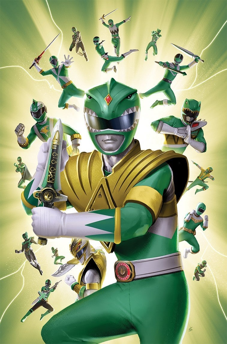 Mighty-Morphin-Power-Rangers-31-Green-Ranger-Variant