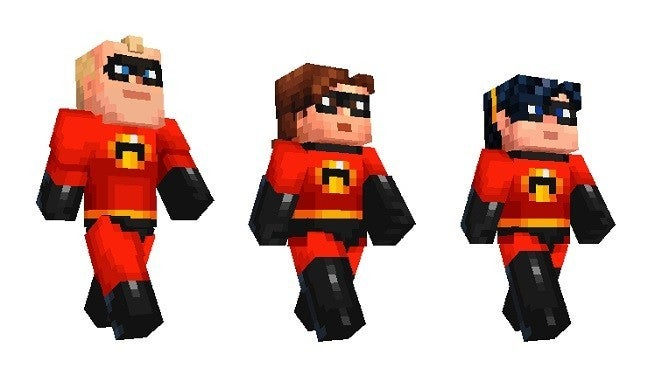 The Incredibles Come To Minecraft With New Skin Pack - Skin para minecraft pe de assassins creed