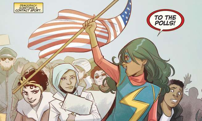 Ms Marvel Most Important - America