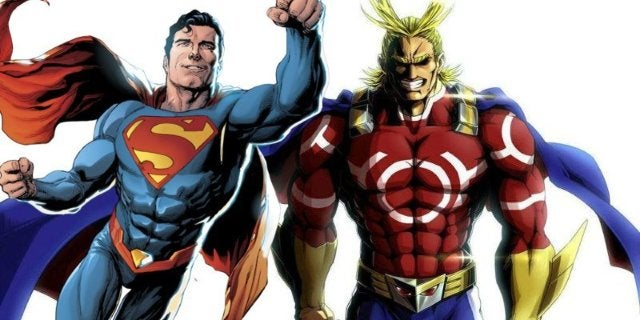 My Hero Academia All Might Better Superman