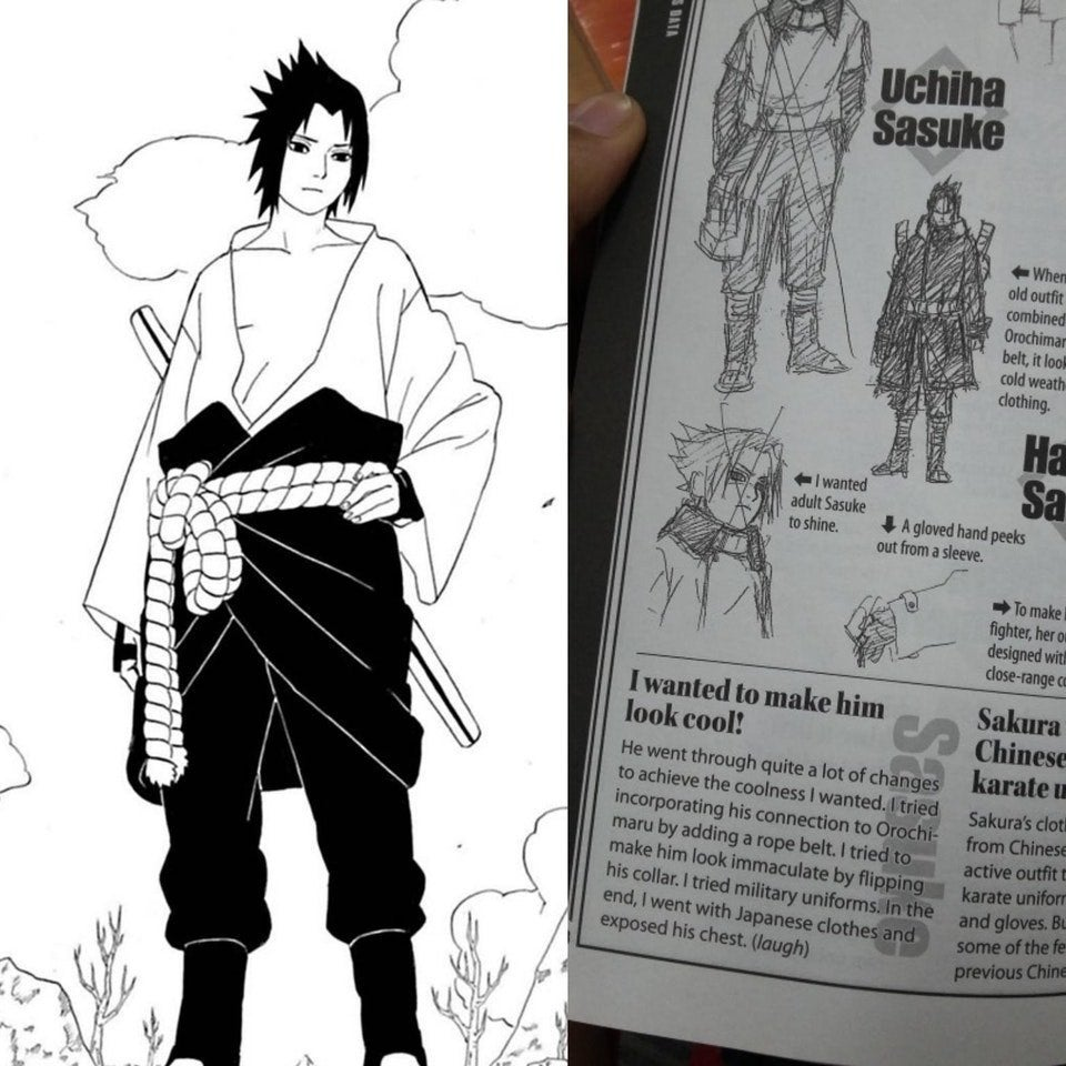 Sasuke Almost Looked Very Different in 'Naruto: Shippuden'