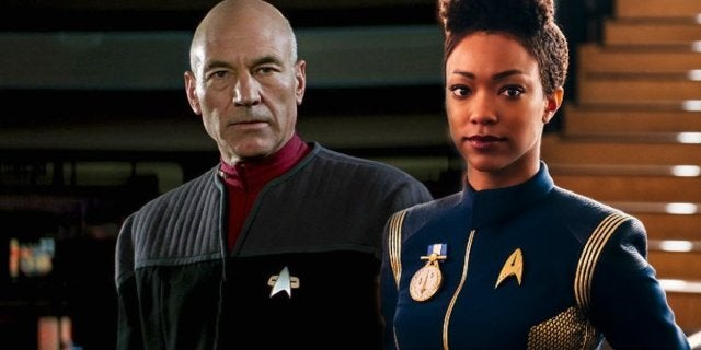 Patrick Stewart Star Trek Discovery
