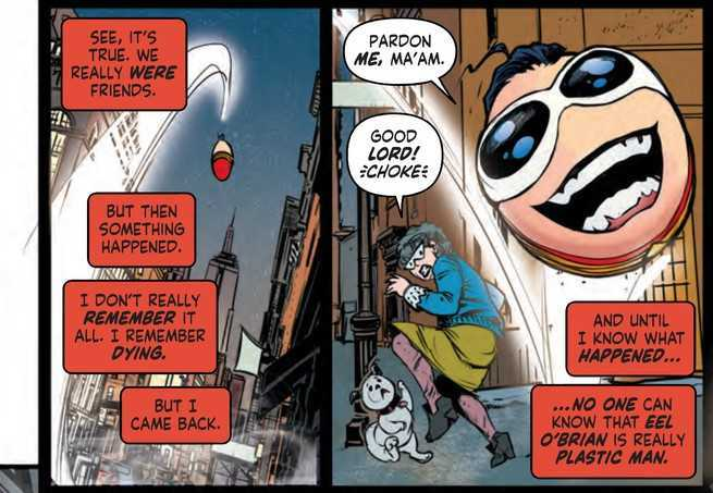 Plastic Man #1 Review - Bouncing Ball
