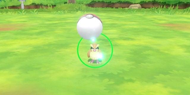 pokemon lg catch