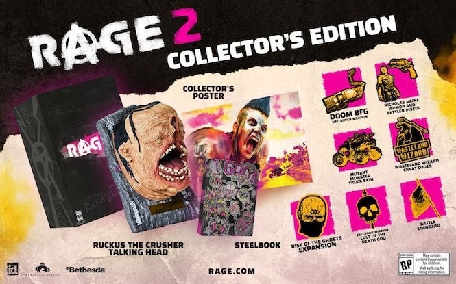 Rage 2 GAMEPLAY trailer, Collectors Edition revealed at Bethesda E3 2018 | Daily Star