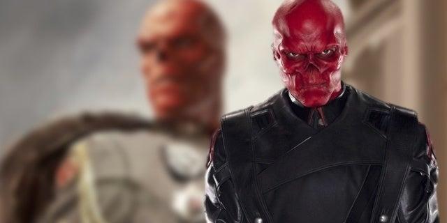 red skull concept art portrait