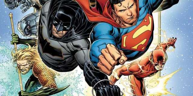 Review Justice League #1 - Cover