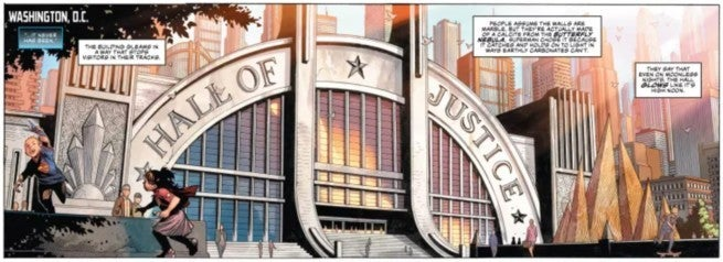 Review Justice League #1 - Hall of Justice