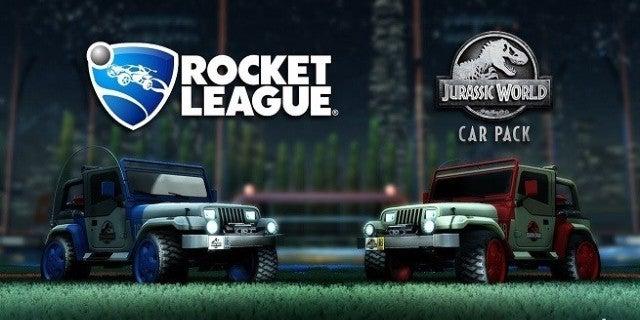 Rocket League Jurassic World DLC