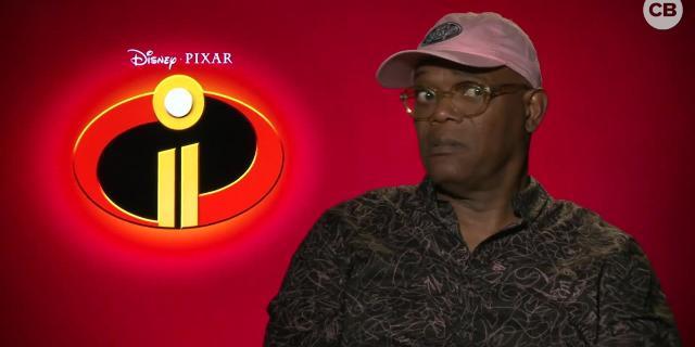 Samuel L. Jackson Talks the Incredibles 2 screen capture