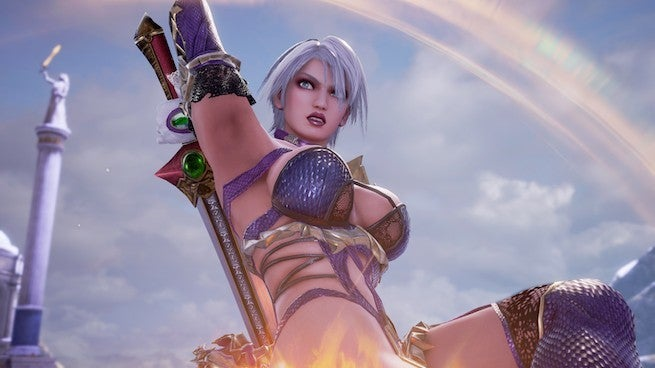 Ivy from soulcalibur dancing naked