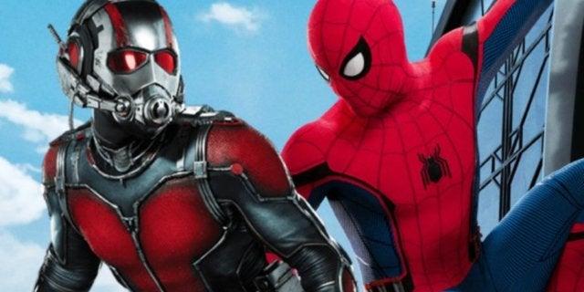 Spider-Man Ant-Man Captain America Civil War