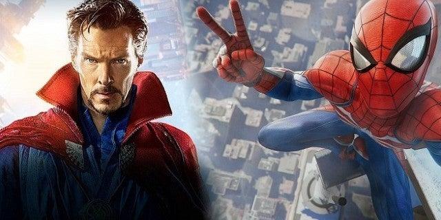 Spider-Man PS4 Dr Strange