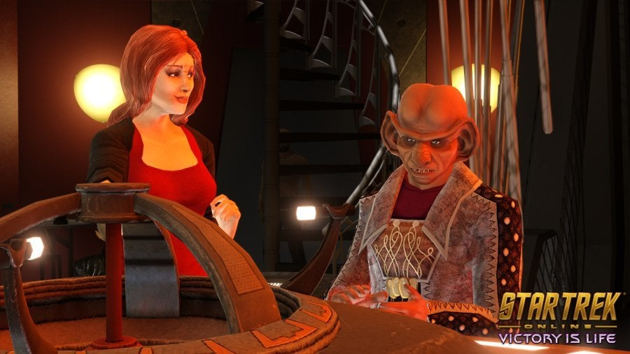 Star Trek Online Victory is Life Leeta Nog